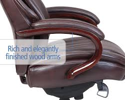 Office Chair Covers Amazon Amazon Com La Z Boy Hyland Executive Bonded Leather Office Chair