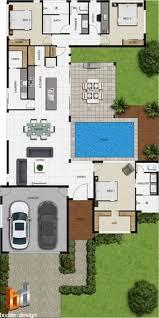 Floor Plan 2d 2d Floor Plan For Modern Duplex 2 Floor House Area 800 Sq M