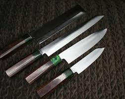 handmade japanese kitchen knives japanese knives etsy