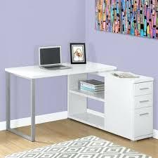 bureau ordinateur blanc laqué petit bureau d angle bureau informatique d angle bureau blanc laque