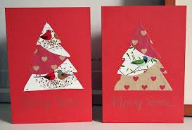 christmas card homemade ideas best celebration day