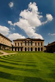 The main quad  Worcester College  Oxford Resurgence