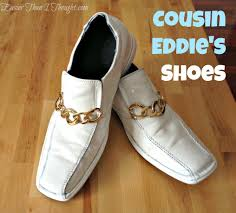 easier than i thought cousin eddie u0027s shoes from christmas