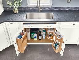 kitchen sink cabinet tray kitchen cabinet storage organization solutions american
