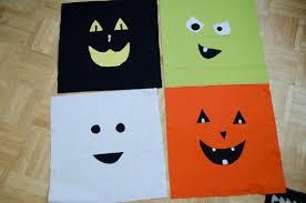 halloween mailbox covers flannel halloween face pillows eighteen25