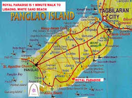 alona resort map map picture of royal paradise guesthouse panglao island