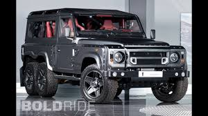 kahn land rover land rover defender flying huntsman 6x6