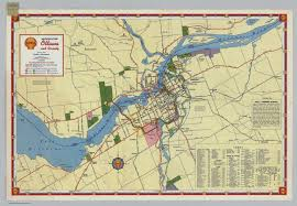 Ottawa Canada Map by Shell Metropolitan Ottawa And Vicinity David Rumsey Historical