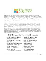 sample proposal letter for concert sponsorship cover letter