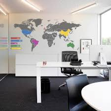 national geographic executive world map wall mural for latest fascinating workspace design world map wall decals for