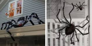 Outdoor Halloween Decorations Michaels by Giant Halloween Spider Halloween Party Store Outside Halloween