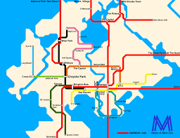 Metro Ny Map by Minecraft World Map Tagged City