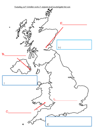 british isles map to label by lisahoward teaching resources tes