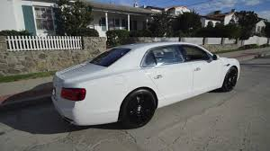 bentley white 2015 2014 bentley flying spur bentley san diego youtube