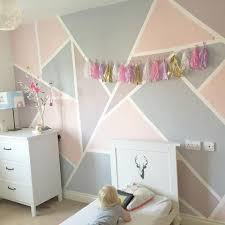 Pink And Purple Bedroom Ideas How To Create A Geometric Wall With Everlong Paint Shapes Room