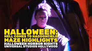 halloween hell comes to haddonfield maze highlights at horror