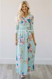summer maxi dresses mint floral wrap summer maxi modest dress best and affordable