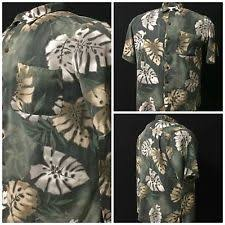 caribbean joe rayon regular floral l casual shirts for men ebay