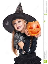 Girls Pumpkin Halloween Costume Halloween Costume Stock Images Image 31465544