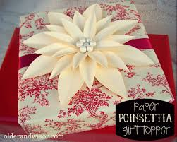and wisor pimp yo presents tip 1 diy paper poinsettia