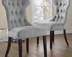 Brookline Tufted Dining Chair Chair Black And White Upholstered Tufted Back Dining Chair