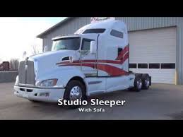 Studio Sleeper Sofa 2008 Kenworth T660 Studio Sleeper W Sofa