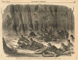 W Homer Artist by File The Army Of The Potomac Our Outlying Picket In The Woods