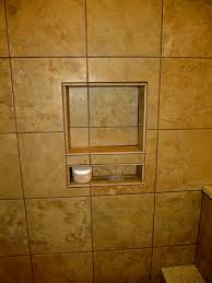 shower niche tile ideas extra large vertical subway with glass