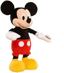disney mickey mouse clubhouse diggity dancing mickey plush
