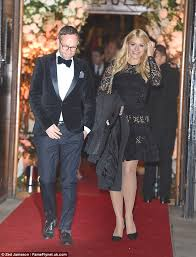 holly willoughby and dan baldwin attend frank lampard and