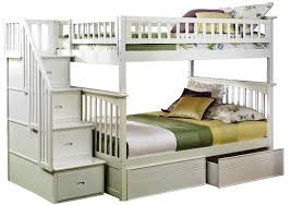 bunk beds full over full bunk beds with stairs twin xl over