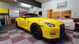 nissan yellow nissan gtr dark yellow wrap youtube