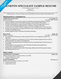 benefits specialist resume sample training specialist resume best resume collection hr benefits