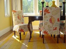 Floral Cream Dining Room Chair Slipcovers Without Arms Decolovernet - Dining room chair slipcovers with arms