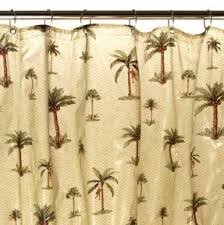 palm tropical shower curtain foter