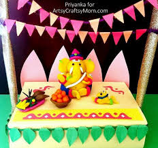 How To Decorate Janmashtami At Home 11 Ganesh Chaturthi Crafts And Activities To Do With Kids