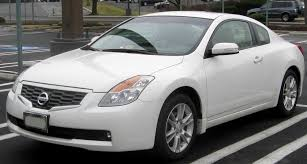 nissan white car altima file nissan altima coupe jpg wikimedia commons
