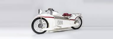 bernadet is a motorcycle influenced by the art deco movement