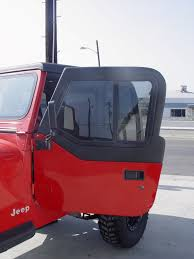 jeep wrangler unlimited half doors jeep half doors for all hard or soft top convertible model jeeps
