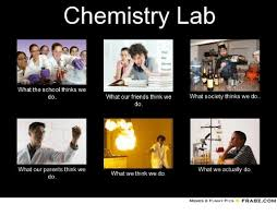 What We Think We Do Meme - chemistry lab what the school thinks we what our friends think we