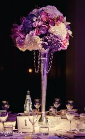 Flower Centerpieces For Wedding - best 25 purple centerpiece ideas on pinterest unique