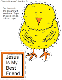 jesus is my best friend cutout craft
