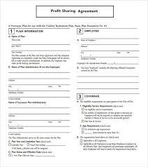 sample revenue sharing agreement template best resumes curiculum