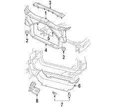 2003 dodge durango radiator parts com dodge durango radiator support oem parts