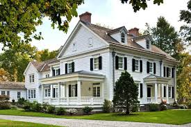 federal style houses federal style homes exterior colors classical revival paint colors