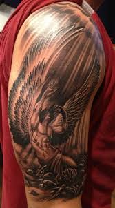 tattoos for guys shoulder the 25 best angels tattoo ideas on pinterest angel tattoo men