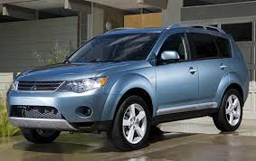 mitsubishi suv blue 2007 mitsubishi outlander information and photos zombiedrive