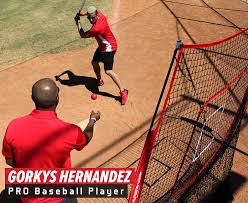 amazon com powernet baseball and softball practice net 7 x 7