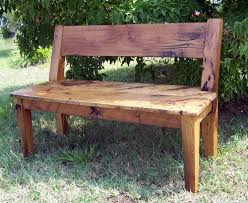 wooden bench with back nanobuffet com