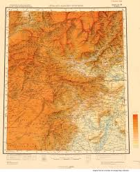 Kabul Map India And Adjacent Countries Topographic Maps Perry Castañeda